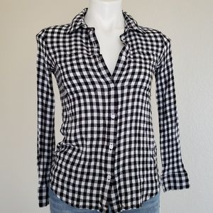 BP | Nordstrom Buffalo Check Plaid Shirt XS